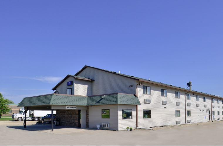 Interior Corridor Hotel for Sale Main Street Iowa